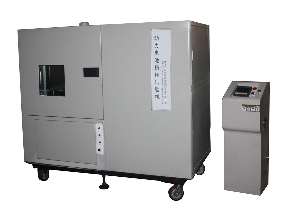 Power Battery Packs Crush Testing Machine 100 Ton Battery Testing Equipment