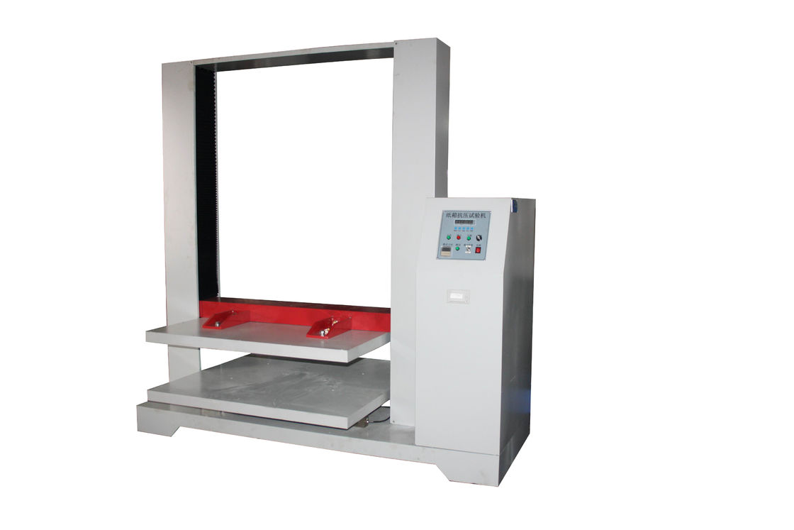 Test Region Customizable Electronic Carton Compression Testing Machine