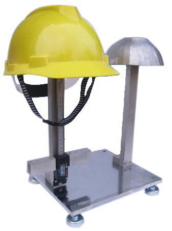 Simple Style Helmet Testing Equipment for Wearing Height Measuring Vertical Spacing